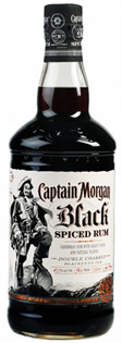 Captain Morgan Rum Black Spiced 1.00l